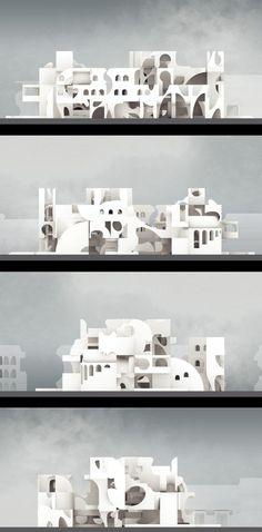 Design portfolio guidelines for Architecture and Landscape Collage Architecture, Architecture Graphics, Architecture Board, Architecture Portfolio, Architecture Drawings, Futuristic Architecture, Interior Architecture, Architecture Diagrams, Architecture Details