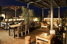 Terraza del Hotel Pulitzer, mi favorita para drinks after work...    Terrace bar, hotel Pulitzer, Barcelona  www.abchumboldt.com Agradece a todos/as aquellos/as fotografos que hacen posible acceder a tan interesantes imágenes.