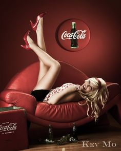Coke on the couch