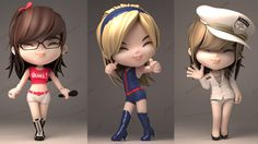 30 Creative 3D Cartoon Character Designs for your inspiration | Read full article: http://webneel.com/30-creative-3d-cartoon-character-designs-your-inspiration | more http://webneel.com/3d-characters | Follow us www.pinterest.com/webneel