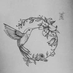 Discover recipes, home ideas, style inspiration and other ideas to try. Black Tattoos, Small Tattoos, Body Art Tattoos, New Tattoos, Tattoo Drawings, Cool Tattoos, Hummingbird Tattoo Watercolor, Hummingbird Tattoo Black, Hummingbird Drawing