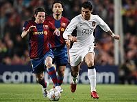 Il croise déja Messi en Champion League et gagne avec Manchester
