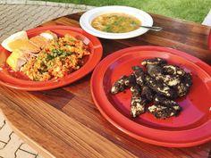 """Recept - """"Údený"""" pečený losos s prílohou Ethnic Recipes"""
