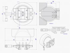 Engraving vice plan - Assembly 2d drawing