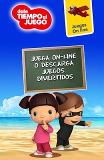 Actividades para Educación Infantil: Juegos on-line para niños y niñas AEFJ Fun Games For Kids, Mario, App, Teaching, Education, Tictac, Books, Fictional Characters, Club
