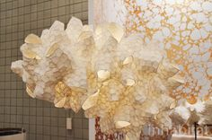 Patrick Weder's Gorgeous Paper Pulp Lamps Glow at ICFF | Inhabitat - Green Design, Innovation, Architecture, Green Building