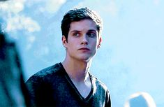 daniel sharman gif he's just got like a 'BOOM'! look at me, face on