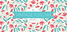 Vintage Fuschia—beautiful wallpaper colors & style—love pretty prints/papers❣ Elizabeth Olwen - Society6
