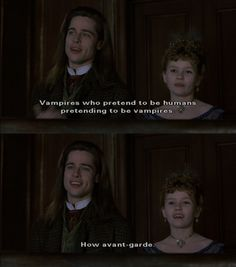 Imagen de vampire, Interview with the Vampire, and brad pitt Tv Quotes, Movie Quotes, Literary Quotes, Movies Showing, Movies And Tv Shows, Anne Rice Vampire Chronicles, Vampire Quotes, Vampire Pics, Lestat And Louis