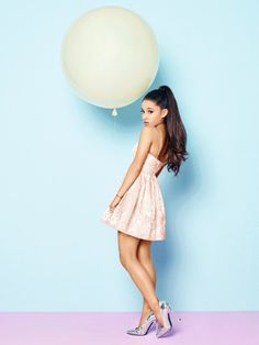 Ariana Grande By Lipsy London Photoshoot 2016 Ariana Grande Fotos, Ariana Grande Lipsy, Ariana Grande Cute, Ariana Grande Outfits, Ariana Grande Pictures, Adriana Grande, Floral Skater Dress, Skater Dresses, Floral Dresses