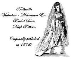 Medieval/Victorian/Colonial Dress PATTERN Wedding OOP Wedding Dress Patterns, Fashion Design Drawings, Designs To Draw, Colonial, Medieval, Victorian, Dresses, Paper Pieced Patterns, Dress
