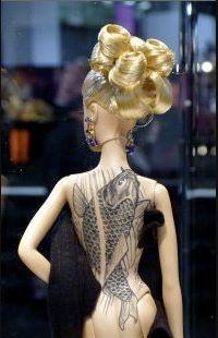 Tattooed barbie - beautiful