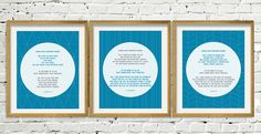 "Printable 3 Kuls. Trio of Geometric Set of 3. Surah Al Ikhlas, Surah Al Falaq, Surah An Nas. Transliteration and translation. 8x10"". Typography, Transliteration and Translation. Printable Islamic Modern Wall Art Print 8x12"". In my studio by Iva Izman. Islamic Muslim Wall Art Print Frame"
