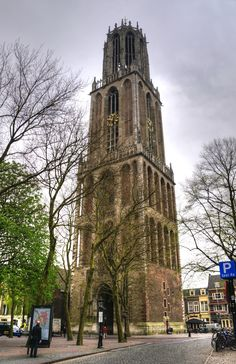 The domtoren in Utrecht, The Netherlands Kingdom Of The Netherlands, Gothic Architecture, Utrecht, Wonders Of The World, Amsterdam, Dutch, Cool Pictures, Around The Worlds, Explore