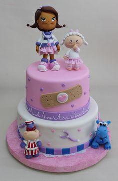 Dra Juguetes Cake by Violeta Glace