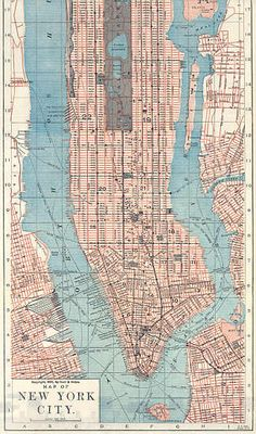 five historic maps of manhattans morphing borders manhattan