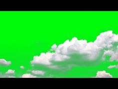 White Clouds on Green Screen Green Screen Video Effect, Green Background Video, Video Effects, White Clouds, Image Types, Visual Effects, Green Backgrounds, Google Images, Overlays