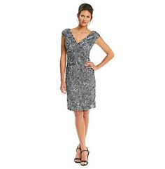 Product: Marina Rosette Lace Dress