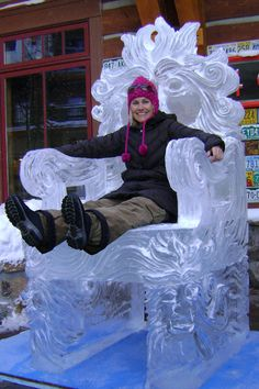 Throne Ice Carving                                                                                                                                                                                 More