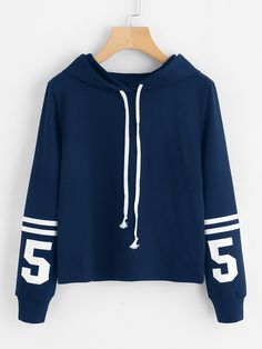 Shop Varsity Print Hoodie online. SheIn offers Varsity Print Hoodie & more to fit your fashionable needs.