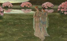 Elisabeth Sonrel (French, 1874-1953). Untitled.