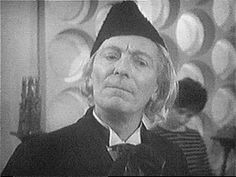 The First Doctor  William Hartnell 1963-1966.