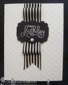 Black Ribbon Birthday