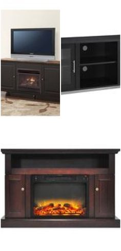 Walmart Tv Console with Fireplace . Walmart Tv Console with Fireplace . Espresso Electric Fireplace Tv Stand – Fireplace Ideas From Tv Console With Fireplace, Glass Fireplace Screen, Media Fireplace, Corner Gas Fireplace, Fireplace Kits, Mounted Fireplace, Modern Fireplace, Fireplace Design, Realistic Electric Fireplace