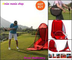 Pop Up Golf Net Practice Portable Returns Ball Target Lightweight Sports In/Out #golfnet