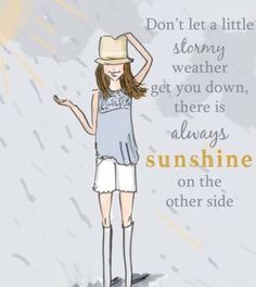 There is always a sunshine ☀️ on the other side ...