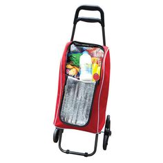 Insulated Shopping Trolley with Seat - Magnamail Australia