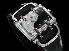 DeLaneau's Atame Ying & Yang watch recreates this classic Chinese philosophy in Grand Feu enamelling and precious gems.