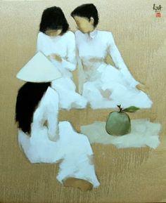Nguyen Thanh Binh, 1954 ~ Pintor figurativo