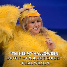 Image on Hiit Blog http://www.dailyhiit.com/hiit-blog/wp-content/uploads/2013/11/funny-Rebel-Wilson-costume-yellow-chick.jpg