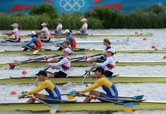 Ukraine - Rowing - London 2012 - women's quadruple sculls