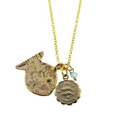 Happy Birthday, #Pisces! We created this necklace just for you. http://www.alisamichelle.com/product_p/z53-a32.htm