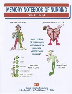 Memory Notebook of Nursing: A Collection of Images and Mnemonics to Increase Memory and Learning by JoAnn, R. N. Zerwekh, http://www.amazon.com/dp/1892155184/ref=cm_sw_r_pi_dp_Ewlzrb0MNBJ7T