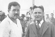 Awesome Photos of Writers Hanging Out via Flavorwire - Ernest Hemingway and F. Scott Fitzgerald