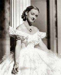 Bette Davis in Jezebel, 1938.