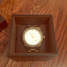 Michael Kors watch Watch shows signs of wear on one side. Retails for $195 and includes the box. MICHAEL Michael Kors Accessories Watches
