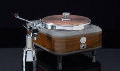 Mono and Stereo High-End Audio Magazine: Torqueo Audio Torqueo Zebrano Exclusive turntable