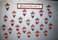 Cowboy theme back to school bulletin board.