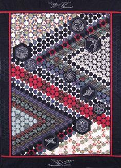 Quilt of longevity, a Japanese quilt