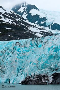 Portage Glacier in Alaska, I remember visiting this when I was younger...can't wait to go back to Alaska!!