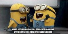College Minions by Candyboy123