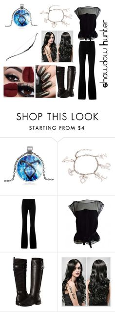"""""""I'm A Shawdow Hunter!!??"""" by tbs-lost-at-sea ❤ liked on Polyvore featuring STELLA McCARTNEY, Louis Vuitton and Aerosoles"""