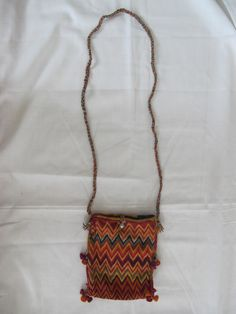Final sale on this collectible India tribal hand made embroidery bag! $114.90 now (was $125.40)