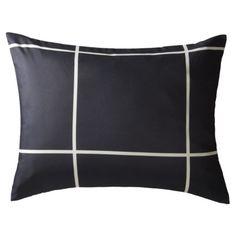Room Essentials® Sham - Gray Grid.