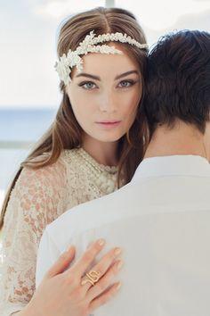 Tocado boda  tocado de novia para boda  novia por JannieBaltzer