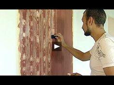 Мастер класс Как сделать декоративный камень из фасадной штукатурки и расписать его *Декор стен*. - YouTube